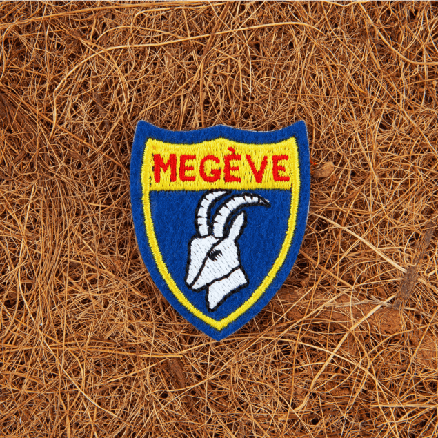 Embroidered Crest Patch with Felt Ground